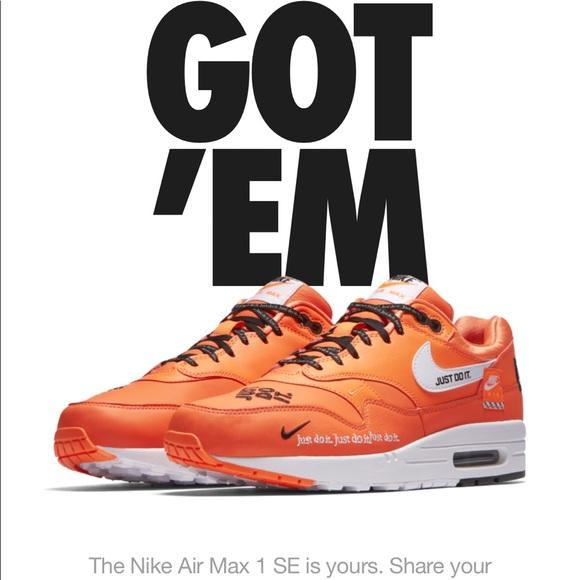"Nike Air Max 1 JDI ""Just Do It"" Edition NWT"